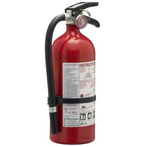 Kidde Pro 210 Fire Extinguisher Abc 160ci 4 Lbs 1 Pack For Home Or Office