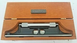 Starrett 98z 12 12 Machinists Level With Ground And Graduated Vial In Wood Case