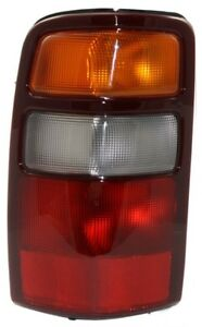 Tail Light For 2000 2003 Chevrolet Tahoe Suburban 1500 Gmc Yukon Lh Assembly