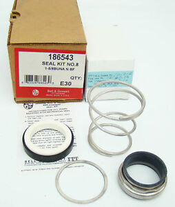 Bell Gossett 186543 Seal Kit No 8 1 5 8 In New In Box