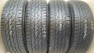 2 Tires 265 70 17 Firestone Destination Le 2 9 80 10 50 32 Tread No Repairs