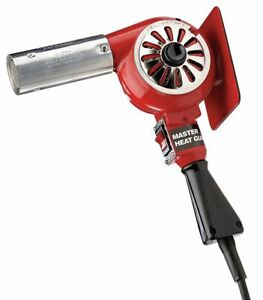 Electric Heat Gun 120vac Variable Temp Settings 300 To 500 f