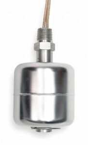 Vertical Open Tank Liquid Level Switch Selectable Stainless Steel 1 4 Npt