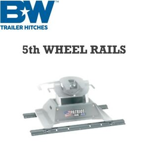 Rvr3200 B W Patriot Rv Fifth 5th Wheel Trailer Hitch Rail Kit