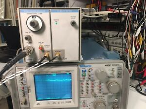 Tektronix Tg503 Tracking Generator Good Working Condition