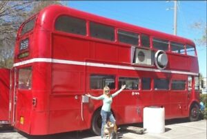 Custom Food Truck For Sale Double Decker Bus