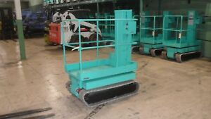 Smac Pc40 Track Drive Man Lift