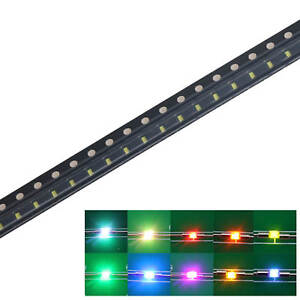 0402 06003 0805 1206 3528 5050 2835 5730 Smd Led Warm White Light Emitting Diode
