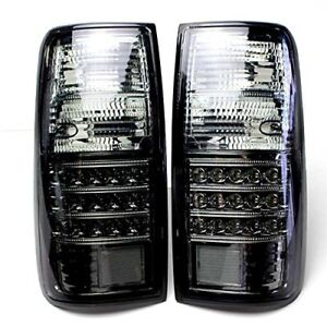 Toyota Land Cruiser 80 Series Led Tail Lamp Crystal Smoke Tail E332 B01l769ava