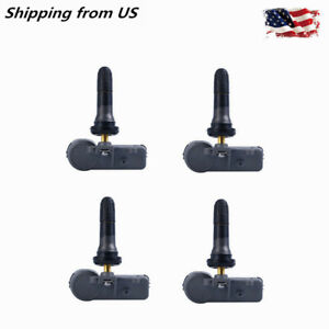 4x Tire Pressure Monitoring Sensor Tpms For Chevy Gm 315mhz 13586335 13581558