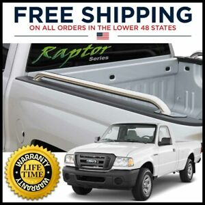 97 12 Ford Ranger 7ft Bed Truck Side Rails 1 9 Stainless Steel Raptor Series
