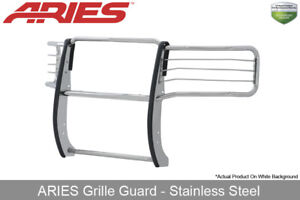 Aries Stainless Steel Front Grille brush Guard 2015 2017 Silverado 2500 3500 Hd