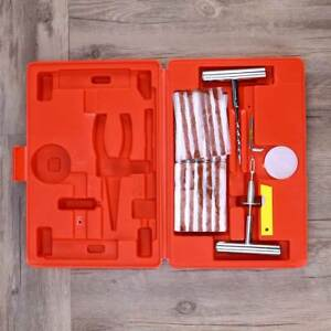56 In 1 Convenient Heavy Duty Durable Motorcycle Tire Patching Repairing Set Kit