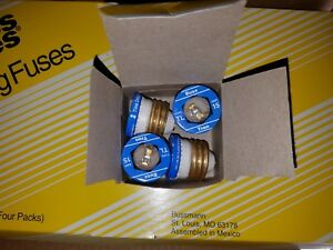 Bulk Lot Of 100 Buss Tron Sl 15 Amp Edison Base Fuses Time Delay 100 Pcs 1box