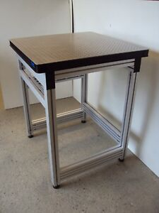 Free Crating Tmc Optical Table Anodized Aluminum Bench Breadboard Lab Isolation