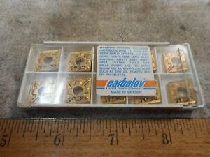 Seco Carbide Insert Cnmg120404 mf3 Tp30 Qty 10 New Old Stock