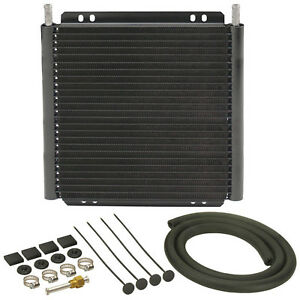 Derale 13504 Plate Fin Trans Cooler Kit 11 32in