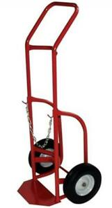 Milwaukee Hand Trucks 40763 Delivery Cylinder Truck 1 Gas Cylinder 500 Lb