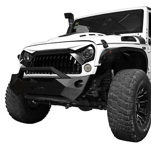Gladiator Vader Grille For Jeep Wrangler Jk 2007 2017 White black Grill