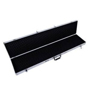 53 Long Aluminum Locking Rifle Gun Case Shotgun Storage Box Carry Case W Keys