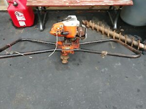 Stihl 2 Man Auger Lineman Anchor Cranker For Screw In Anchors