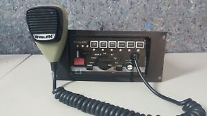 Whelen 295slsa6 Speaker Light Pa Air Horn Control Unit Radio Mic
