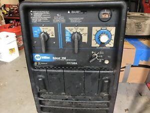 Miller Bobcat 250 Engine Driven Welder 11000 Watt Generator mig tig stick