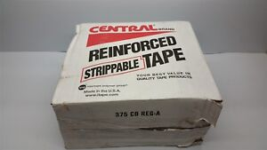 Central Brand Uline 3609 Reinforced Tape New In Box