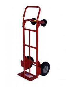 Milwaukee 47180 800 pound Capacity Convertible Hand Truck With 10 inch Ace