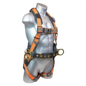 Warthog Maxx Comfort Construction Harness With Belt Side D rings And