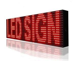 Technoto App P 5 Led Sign Wifi Board Scrolling Programmable Display Message Size