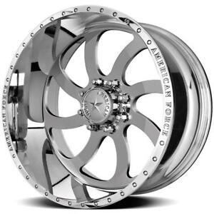 22 Inch 22x12 American Force Blade Ss Polished Wheel Rim 8x6 5 8x165 1 40