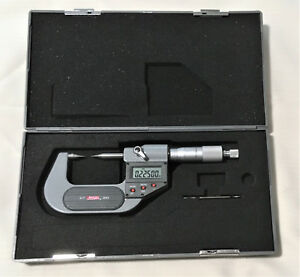 Machinist Spi 0 1 O d Electronic Point Micrometer Ip65 Coolant Proof