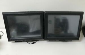 Lot Of 2 Touch Dynamic Breeze All In One 15 Touchscreen Pos Systems