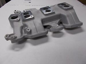 Offy Offenhauser Oldsmobile 59 64 Triple Intake 4 Bolt Carbs 394 Cu In