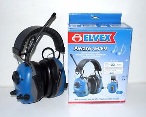Aware Am Fm Radio Earmuffs With Voice Speech Pick up Microphone