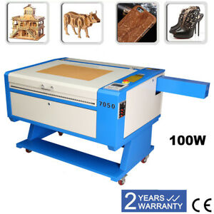 700x500mm 100w Co2 Laser Cutter Engraving Machine Usb Cutter Red dot Position