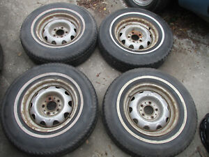 4 Dodge Plymouth Mopar Challenger Barracuda 14 Rallye Wheels Only
