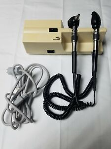 Welch Allyn 767 Series Transformer Otoscope Ophthalmoscope W Heads 25020 11710