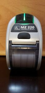Zebra Mz 220 Mobile Portable Bluetooth Thermal Receipt And Label barcode Printer