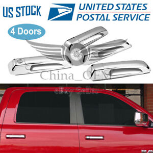 For 2006 2010 Jeep Commander Chrome Door Handle Covers