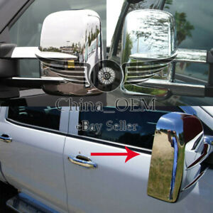 For 1999 2015 Chevrolet Silverado 2500hd 3500hd Chrome Mirror Covers