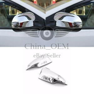 For 2012 2017 Toyota Camry W Turn Signal Cut Chrome Mirror Covers