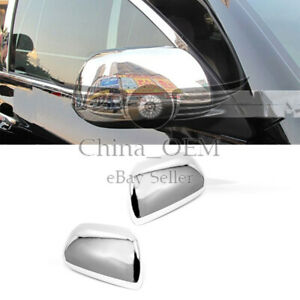 For 2011 2019 Toyota Sienna Chrome Mirror Covers