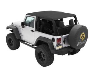 Fits 2007 2017 Jeep Wrangler Soft Top Bestop 77852tg 2015 2013 2012 2009 2008 20