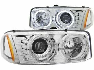 Fits 2001 2006 Gmc Sierra 2500 Hd Headlight Set Anzo 49861sx 2005 2002 2003 2004