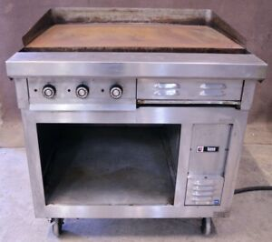 36 Lang 36s 10 Rf21s g Electric Flat Top Griddle Grill 208v 3 phase Grill