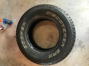 Cooper Discoverer Srx 245 75r16 111s Used Tire 8 9 32 222394