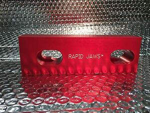 Rapid Change Aluminum Vise Jaws For Kurt Vises 10 Sets