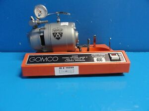 Allied Gomco 400 Aspirator Vacuum Pump Table Top Suction Pump 16099